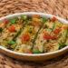 zucchine marinate con pomodoro fresco e capperi
