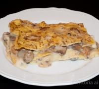 Lasagne ai funghi e fontina