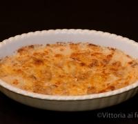Gratin di patate e champignon