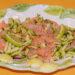 insalata di salmone affumicato
