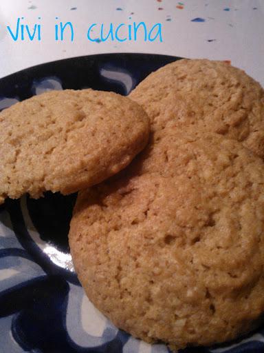 biscotti di farro integrale e cocco