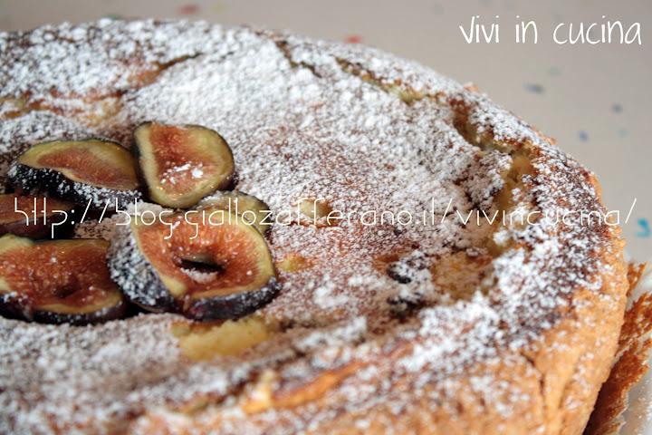 Ricetta torta di fichi e ricotta