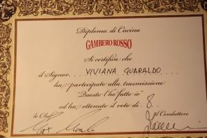 gamberorosso diploma 1