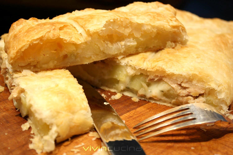 sfoglia patate tonno mozzarella