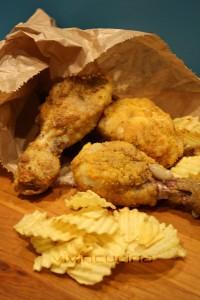 cosce di pollo speziate