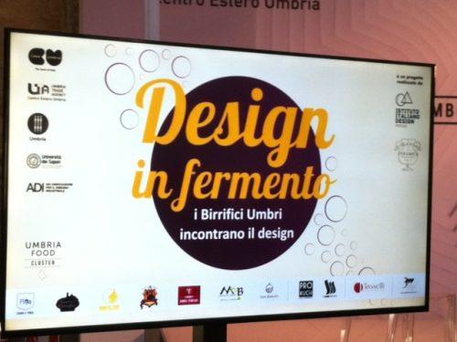 DESIGN IN FERMENTO – I BIRRIFICI UMBRI INCONTRANO IL DESIGN