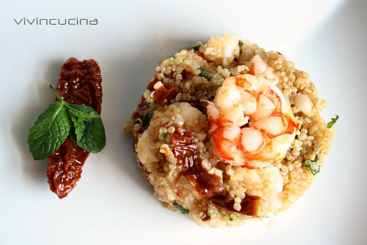 Quinoa gamberi