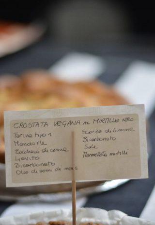 Crostata vegana alle mandorle