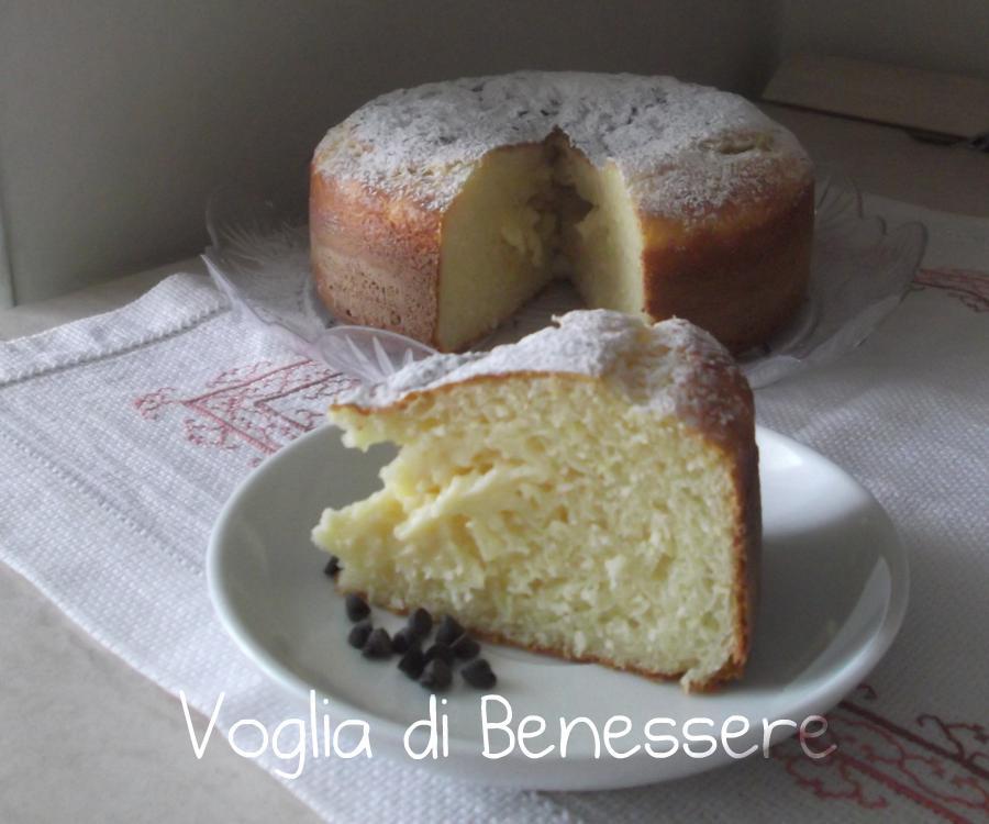Torta yogurt e ricotta ricetta