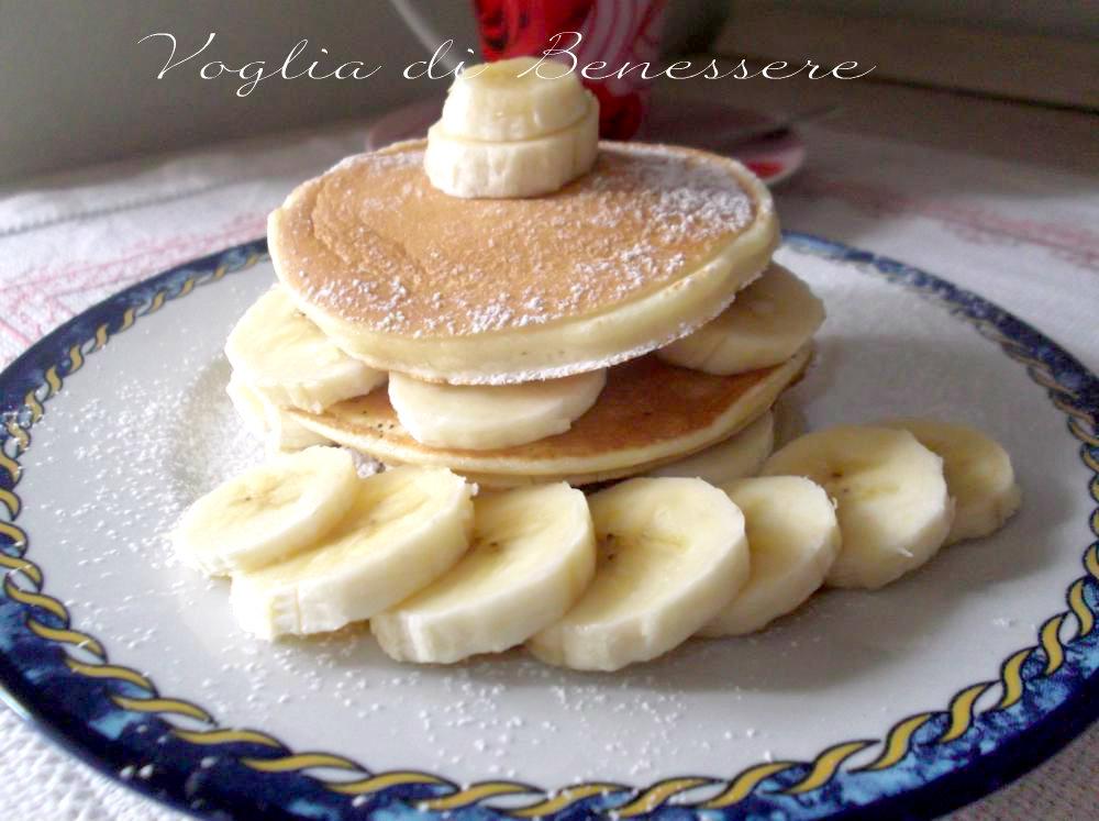 Ricetta Pancake Ipocalorici.Pancake Light