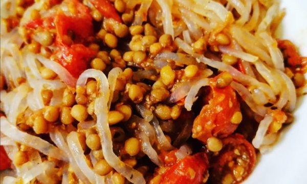 Ragù vegan di lenticchie