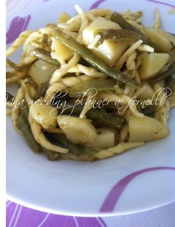 btrofie fagiolini e patate