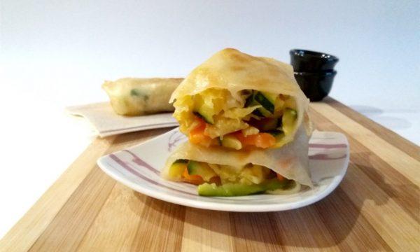 Cena cinese prima parte – Involtini primavera vegetariani