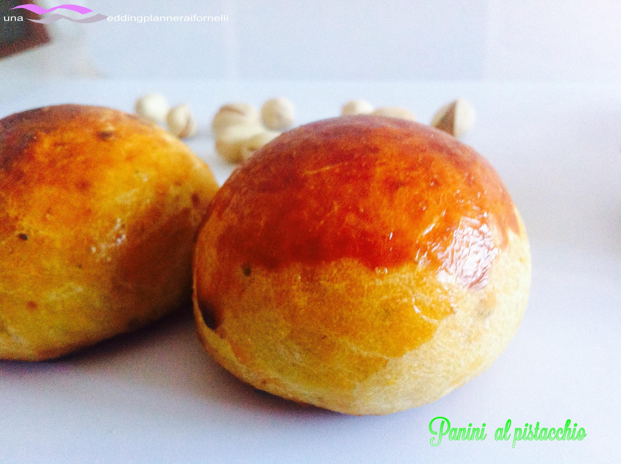 Panini da buffet al pistacchio