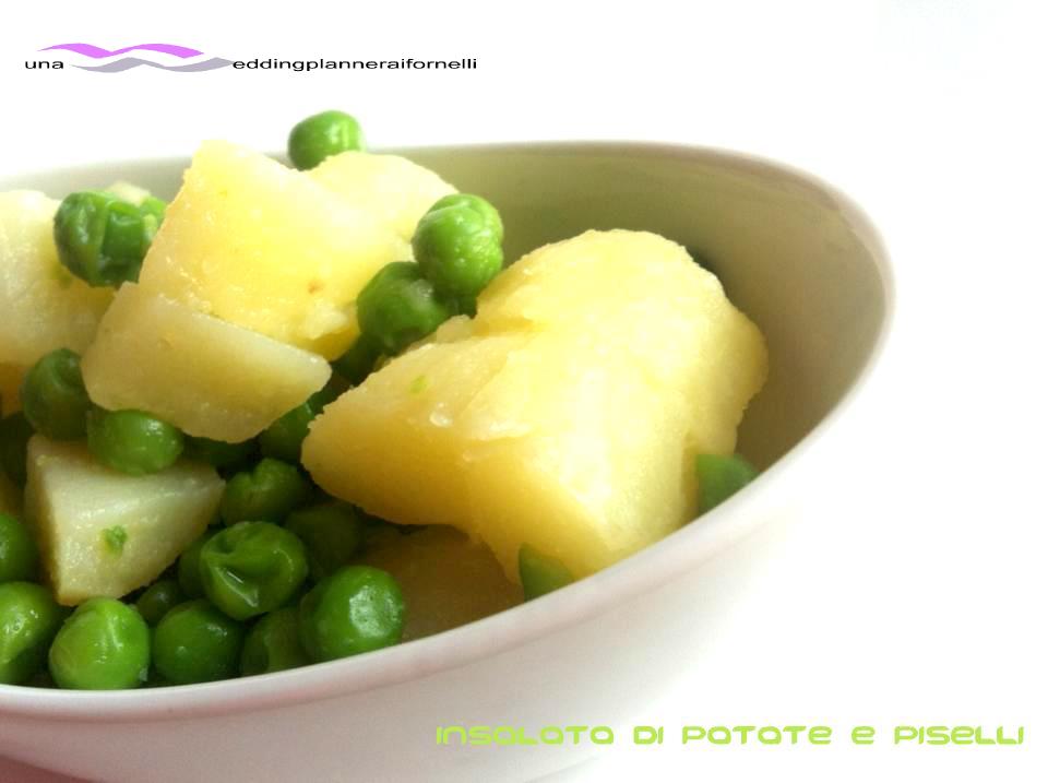 Insalata di patate e piselli