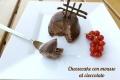 Cheesecake con mousse al cioccolato senza cottura