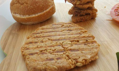Burger di ceci e pomodori secchi