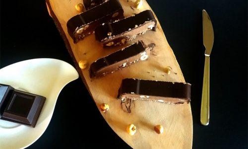 Torrone morbido alla Nutella – con e senza Bimby