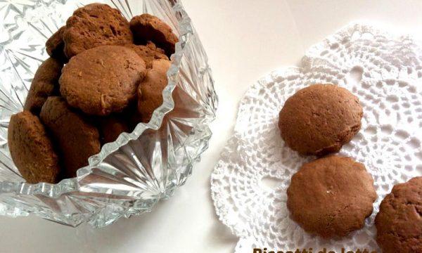 Biscotti da latte al cioccolato – con e senza Bimby