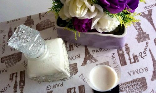 Liquore al cocco – con e senza Bimby
