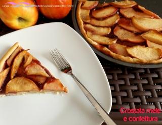 crostata mele confettura 3