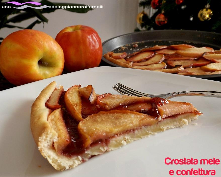 crostata mele confettura