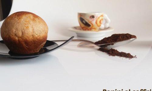 Panini al caffè con e senza Bimby