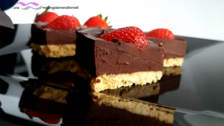 finta cheesecake morbida al cioccolato 2