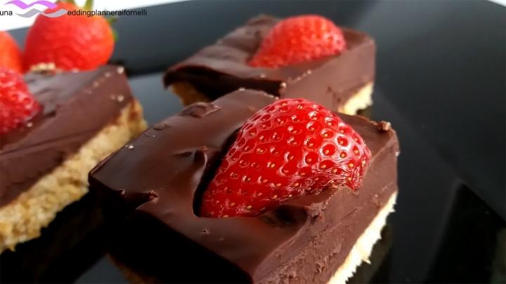 finta cheesecake morbida al cioccolato 3