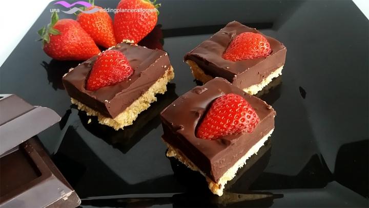 finta cheesecake morbida al cioccolato 4