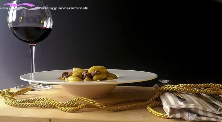 gnocchi salsiccia e tartufo