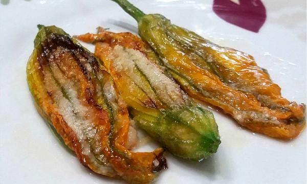 Fiori di zucca ripieni al forno – ricetta semplice