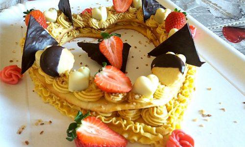 Cream tart deliziosa napoletana