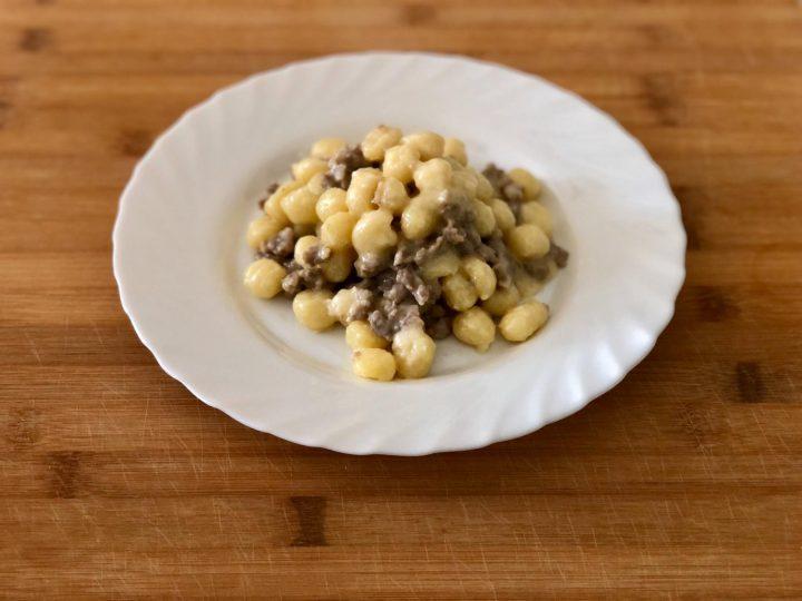 Gnocchetti crema di Brie e salsiccia