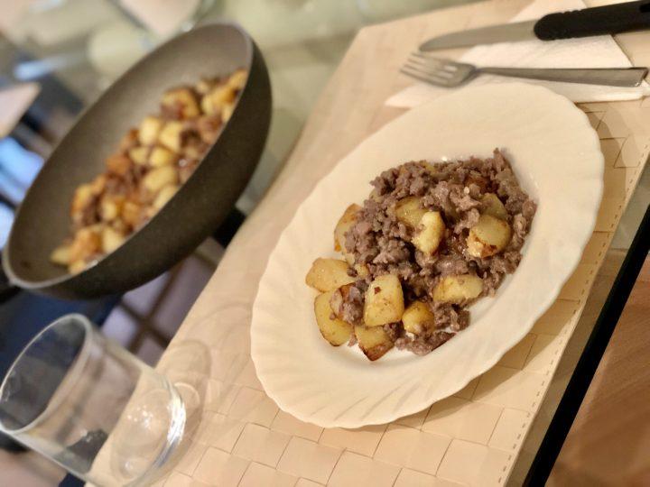 Padellata salsiccia e patate
