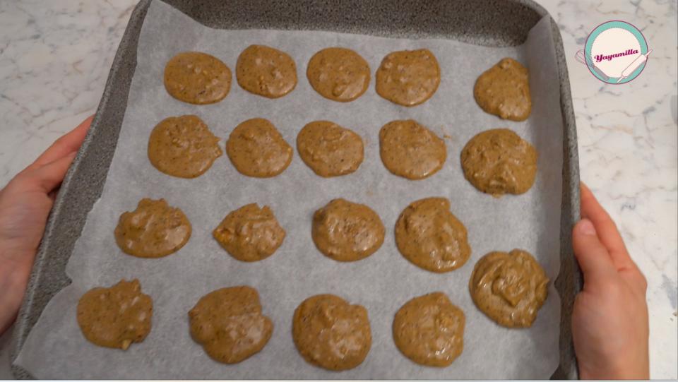 biscotti vegani al caffè e noci