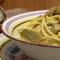 Spaghetti Carciofi e Zafferano