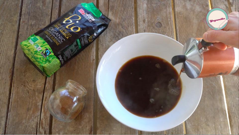 dessert veloce caffè e cannella