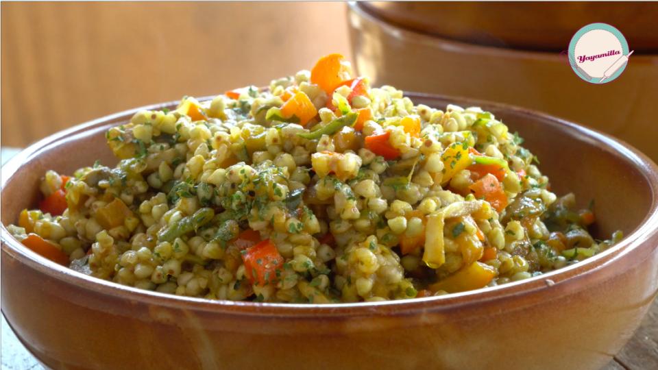 Grano Saraceno Decorticato Con Verdure Vegan E Senza Glutine