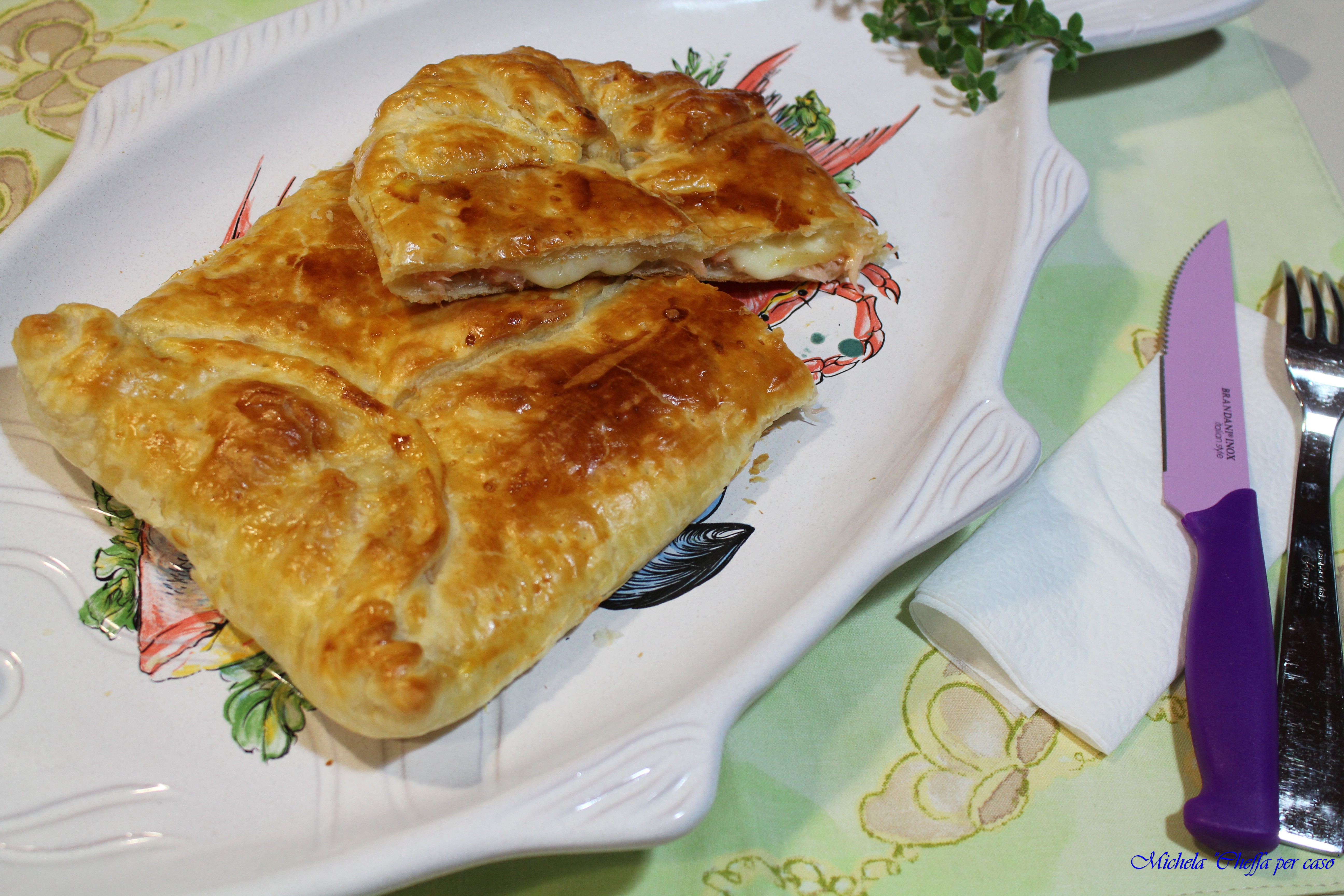 Salmone di suocera! Torta salata al salmone affumicato