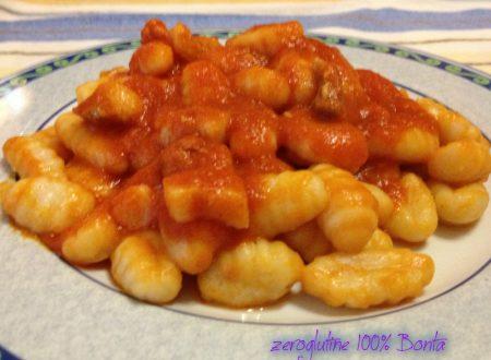 Gnocchi di patate senza glutine