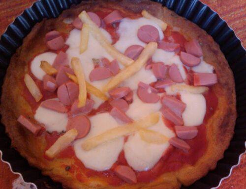 Pizza di patate senza glutine