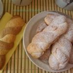 Biscotti treccine per latte (senza glutine)