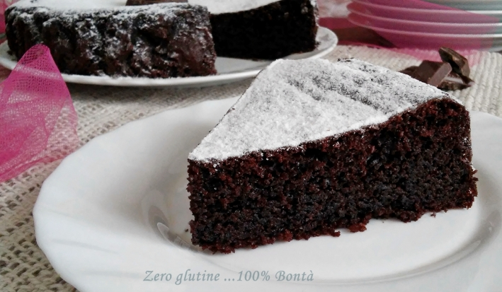 Torta Morbida Ricotta e Cacao Senza Glutine