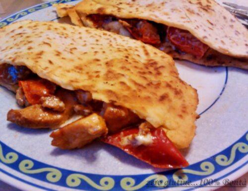 Piadina con kebab (casereccio)