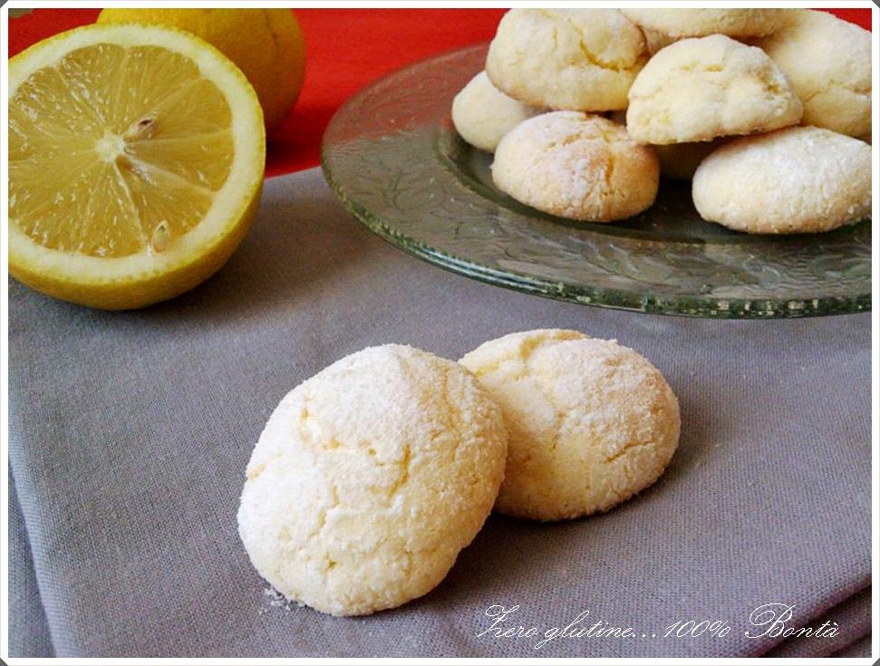 abbastanza Biscotti al limone senza glutine - zero glutine100% Bontà CY94