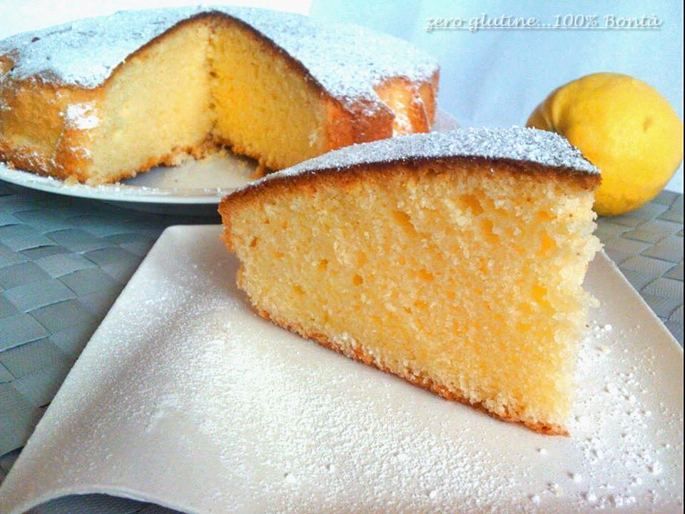 Torta Al Limone Senza Glutine E Lattosio Mary Zero Glutine100