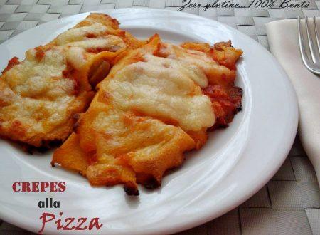 Crepes alla pizza (senza glutine)
