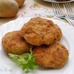 Cotolette di patate e tonno (al forno)