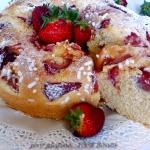 Ciambella alle fragole (senza glutine )